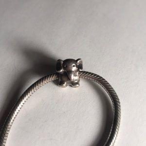 Silver Elephant Pandora Charm